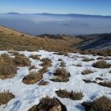 27 Vista desde el Portezuelo hacia la Cordillera de la Costa