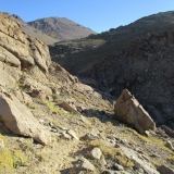 15 Quebrada Las Gualtatas y Cara NE Co. El Meson 3.485msnm