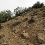 04 Sendero hacia la Quebrada Los Gauchos