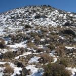 19 Antes de la Cumbre Rocas y Nieve
