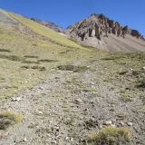 15 Buscando la Quebrada hacia el Filo NE Co. Mora 3.565msnm