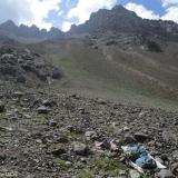 07 Vivac a 2.885msnm & Cara E del Cordon Cerros de Ojos de Agua