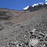 09 Acarreos en la Ladera E del Cordon Cerros de Ojos de Agua