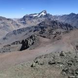 28 Co. Parva del Inca 4.792msnm desde la Cumbre Co. Ojos de Agua 4.222msnm