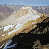 27 Cara SE Co. Amarillo 4.221msnm desde la Cumbre del Co. Pico Colina Norte 4.313msnm (GPS)