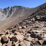 20 Co. Potrerito 4.365msnm desde el Filo del Pico 4.338msnm