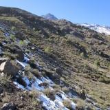 02 Quebrada Las Cortaderas y Cara NO Co. Punta Canaletas 4.055msnm