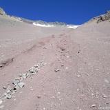 14 Acarreos Blandos en la Cara NE del Co. Reina 4.755msnm