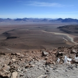 16 Desde la Cumbre del Co. Toco 5.604msnm hacia Bolivia