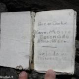 18 Libro de Cumbre Co. Morro Escondido 4.442msnm