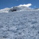 37 Penitentes sobre el Glaciar del Trono