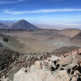 59 Vn. Licancabur 5.916msnm Y Cráter Vn. Sairecabur desde su Cima