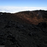 23 Borde NO Cráter Vn. Antuco 2.979msnm & Vapores