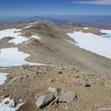 28 Vista desde la Cumbre del Vn. Domuyo 4.702msnm hacia el N