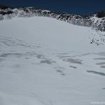 17 Glaciar en el Crater