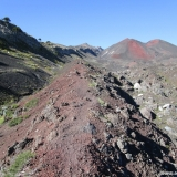 10 Sendero Sobre Material Volcanico