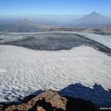 20 Crater Glaciado Vn. Quetrupillan 2.376msnm & Vn. Lanin 3.728msnm