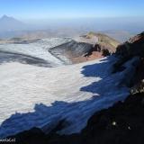 21 Crater Glaciado Vn. Quetrupillan 2.376msnm & Vn. Lanin 3.728msnm