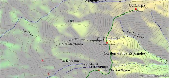 Track Ascenso Cos. Conchalí 2.552msnm & Carpa 2.776msnm Parte II