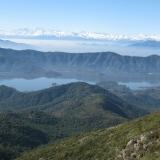 24 Laguna de Aculeo y Los Andes de Fondo