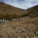 12 Majada en la Quebrada de Araya a 3.000msnm