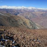 17 Cumbres hacia el E del Co. Cardenas 4.280msnm