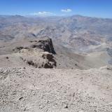 23 Desde la Cumbre del Co. Carrizalillo 3.114msnm hacia los Cos. San Miguelito 4.166msnm & Cárdenas 4.280msnm
