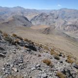 27 Vista hacia el Co. San Miguelito 4.166msnm & Co. Cárdenas 4.280msnm
