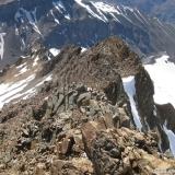 24 Vista desde la Cumbre Hacia el Filo E