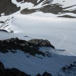 22 Mis Huellas Sobre el Glaciar