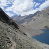 06 Extremo N de la Laguna del Inca & Co. Tres Hermanos 4.751msnm