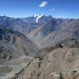 25 Nevado Juncal 6.110msnm & Cajon del Rio Juncal