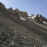 22 Sobre Acarreos en la Cara NO del Co. Pico Colina Norte 4.313msnm (GPS)