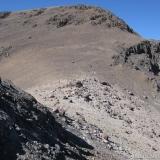 18 Punta 3.619msnm desde la ladera O del Filo