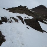 16 Pasada de Rocas en el Filo O del Co. Sargento del Quempo 3.803msnm