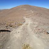 14 Camino por el Filo Co. Vicuña Mackenna 3.114msnm