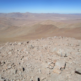 17 Vista hacia el O desde la Cumbre del Co. Vicuña Mackenna 3.114msnm
