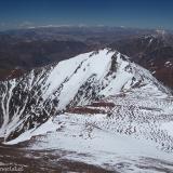 33 Hacia el S Cumbre con Cara E Glaciada