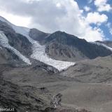 13 Glaciares Desprendidos desde el Co. Trono 5.477msnm