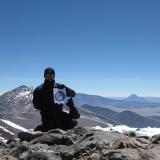 29 Elal en la Cumbre del Co. Peña Blanca 6.030msnm