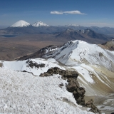 25 Crater Vn. Acotango 6.052msnm Vn. Umarata 5.730msnm & Payachatas