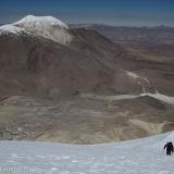 27 Xisco casi en Cumbre Vn. Acotango 6.052msnm con Vn. Guallatiri 6.063mnsm