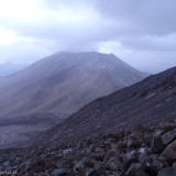 54 Vn. Juriques 5.704msnm desde la ladera del Vn. Licancabur 5.916msnm