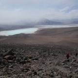60 Laguna Verde & Laguna Blanca desde las Ladera del Vn. Licancabur
