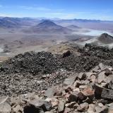 60 Desde la Cumbre Vn. Sairecabur 5.971msnm hacia Bolivia