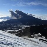 22 Pulso Eruptivo Vn. Chillan Nuevo 3.186msnm