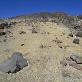 16 Sendero Sobre Material Volcanico