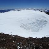 27 Nevero en el Crater del Vn. San Pedro 3.621msnm hacia N