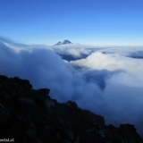 25 Vn. Llaima 3.125msnm entre las Nubes