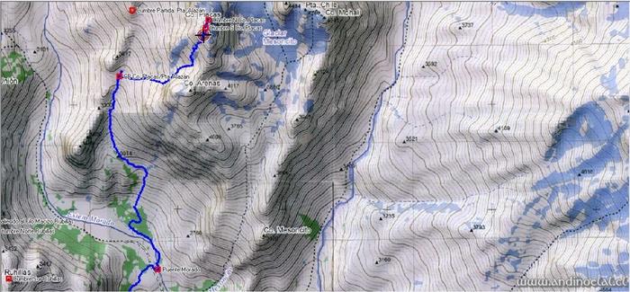 Track Ruta Co. Placas Cumbres S & N